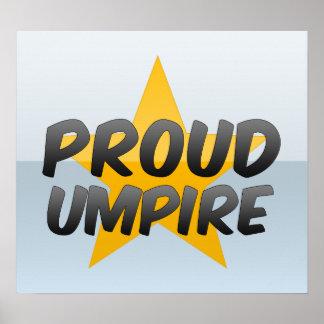 Proud Umpire Poster