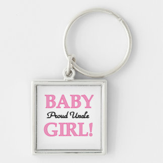 Proud Uncle Baby Girl Gifts Key Chain