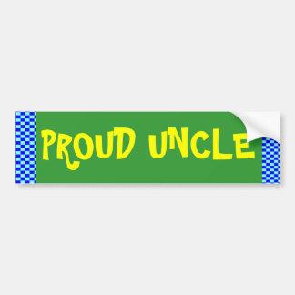 Proud Uncle Bumper Sticker