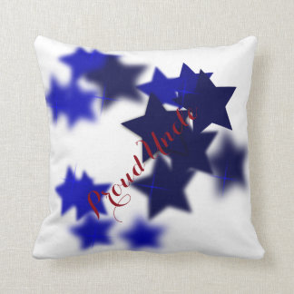 Proud Uncle Throw Pillow