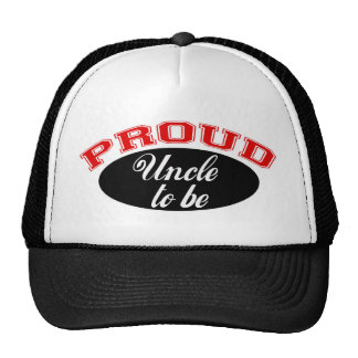 Proud Uncle to Be Trucker Hat
