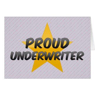 Proud Underwriter Card