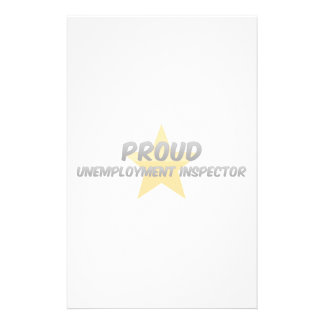 Proud Unemployment Inspector Stationery