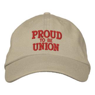 PROUD UNION MEMBER CAP