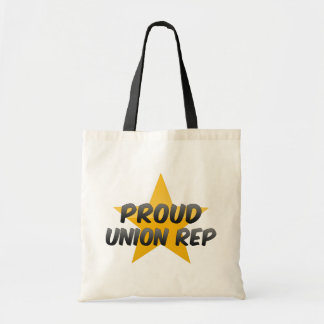 Proud Union Rep Budget Tote Bag