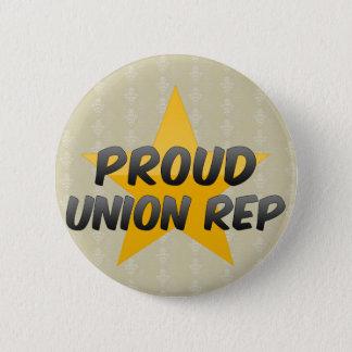 Proud Union Rep Button