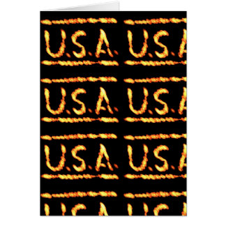 Proud USA Gold : Feel Confident Display Commitment Card