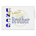 Proud USCG Brother Card