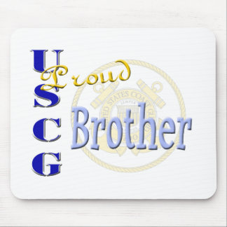 Proud USCG Brother Mouse Pad