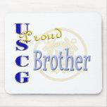 Proud USCG Brother Mousepad