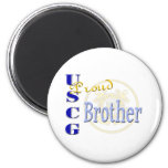 Proud USCG Brother Refrigerator Magnets