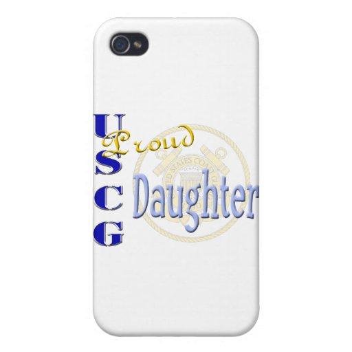 Proud USCG Daughter iPhone 4 Case
