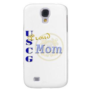 Proud USCG Mom Samsung Galaxy S4 Covers