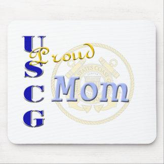 Proud USCG Mom Mouse Pad