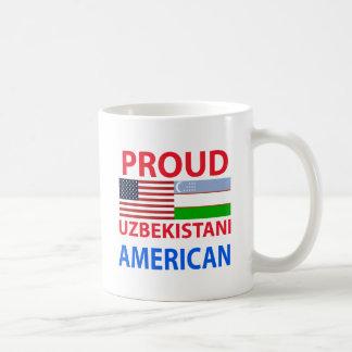 Proud Uzbekistani American Coffee Mugs