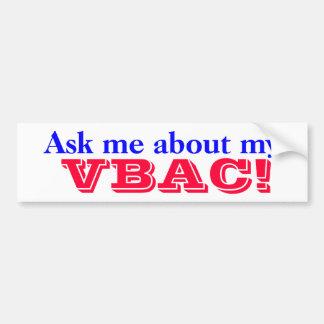 Proud VBAC Mama Goddess Bumper Sticker