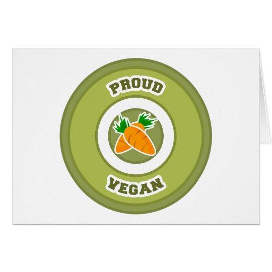 Proud Vegan Card