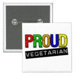 Proud Vegetarian Pin