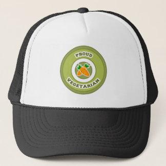 Proud Vegetarian Trucker Hat