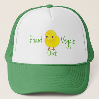 Proud Veggie Chick Hat