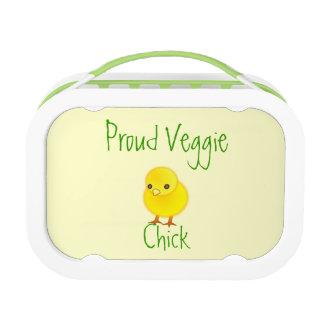 Proud Veggie Chick Lunchbox
