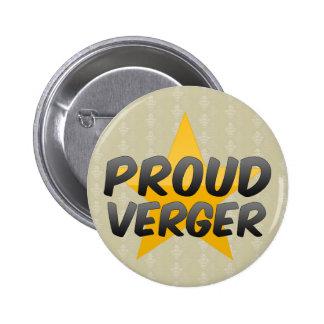Proud Verger Button
