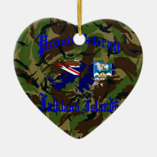 Proud veteran…. Falklands Ceramic Ornament
