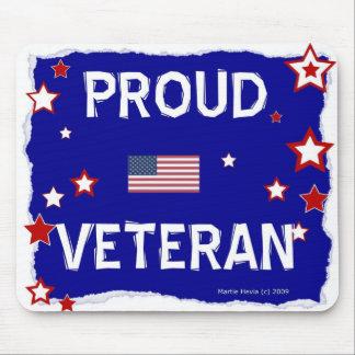 Proud Veteran - In Honor - Mousepad