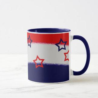 Proud Veteran Red White & Blue Mug