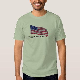 Proud veteran tee shirt