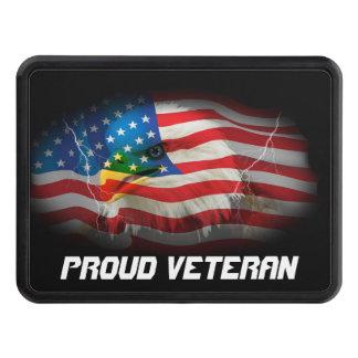 Proud Veteran Trailer Hitch Cover