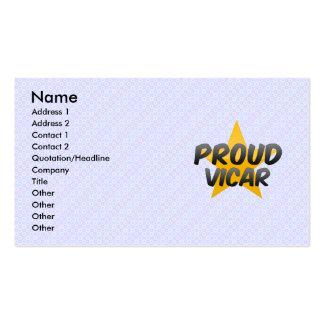 Proud Vicar Business Card Template