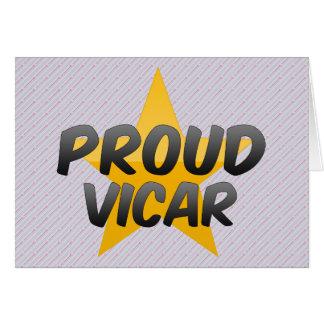 Proud Vicar Card