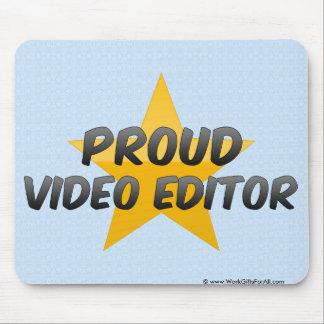 Proud Video Editor Mousepad