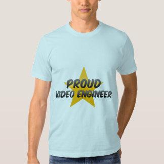Proud Video Engineer T-shirt