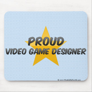 Proud Video Game Designer Mouse Pad