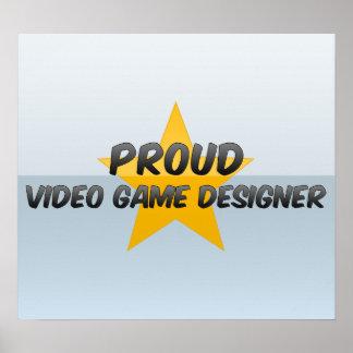 Proud Video Game Designer Print