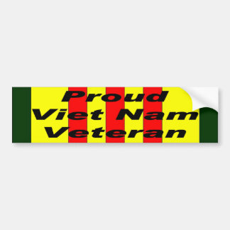 Proud Viet Nam Veteran Bumper Sticker