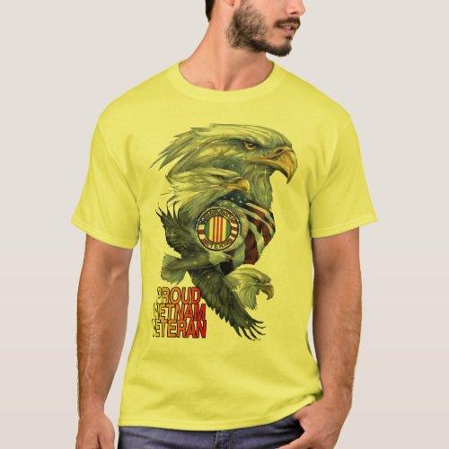 PROUD VIETNAM VETERAN T_Shirt