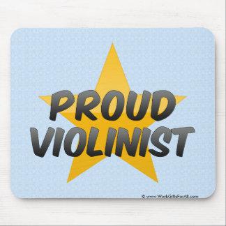 Proud Violinist Mouse Pad
