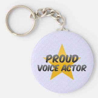Proud Voice Actor Key Chains