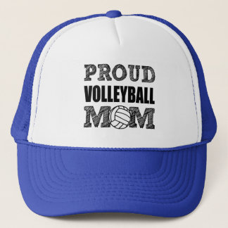 Proud Volleyball Mom hat