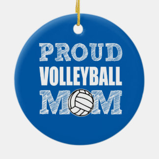 Proud Volleyball Mom ornament