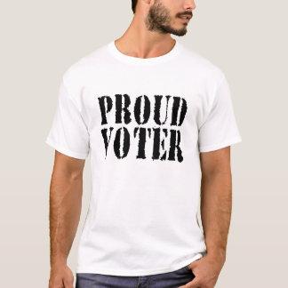 Proud Voter tshirt