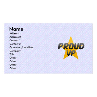 Proud Vp Business Card