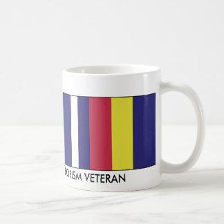 PROUD WAR ON TERRORISM VETERAN COFFEE MUG