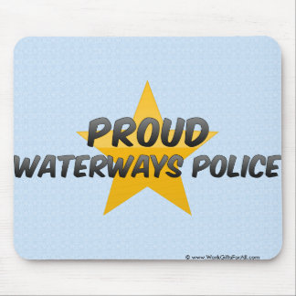 Proud Waterways Police Mouse Pad