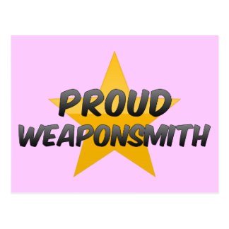 Proud Weaponsmith Postcard