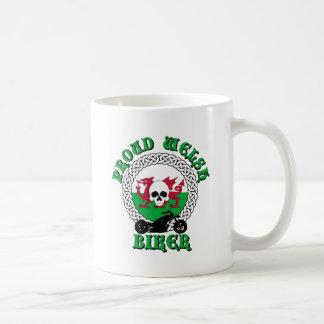Proud Welsh Biker Coffee Mug