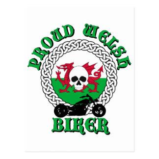 Bikersrus.com Proud Welsh Biker Postcard